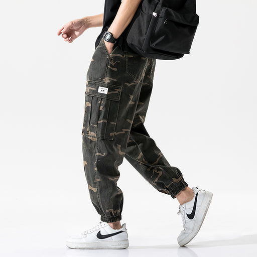 Japanese super fire camouflage cargo pants