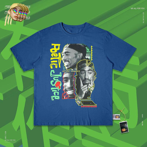 Retro Hip-hop rapper 80s T-shirts