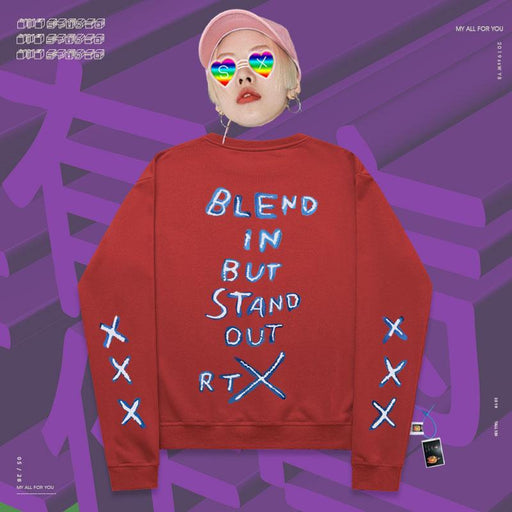 Retro Hand-painted American simple Vaporwave sweatshirt