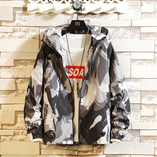 Japanese camouflage loose coat