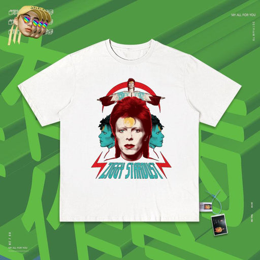 Retro Salute  David Bowie 80s T-shirts