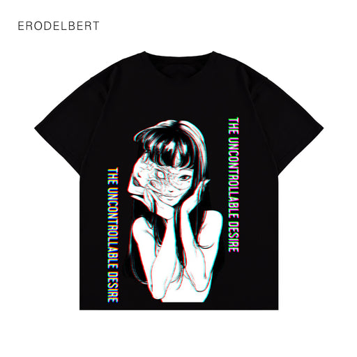 Anime Japanese Shocked Girl T-Shirt