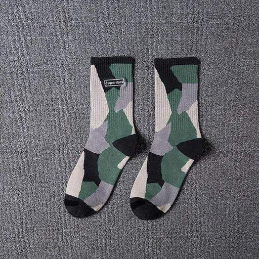 Superdark Camo Socks