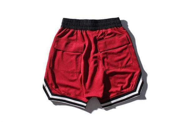 Red Signature Shorts
