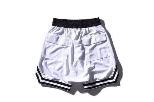 White Signature Shorts