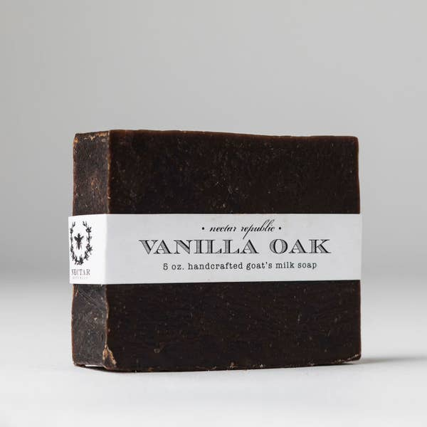 Vanilla Oak Bar Soap