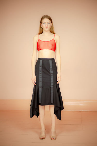 BLACK SKIRT MARK ANTOINE