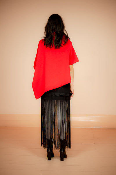FRINGE SKIRT MARK ANTOINE