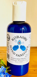 Advanced Instant Hand Sanitizer Natural Aromatherapy Rub Kobashi 100ml Snap Cap - Anahata Green