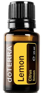 doTERRA Lemon Pure Therapeutic Grade Essential Oil 15ml - Anahata Green