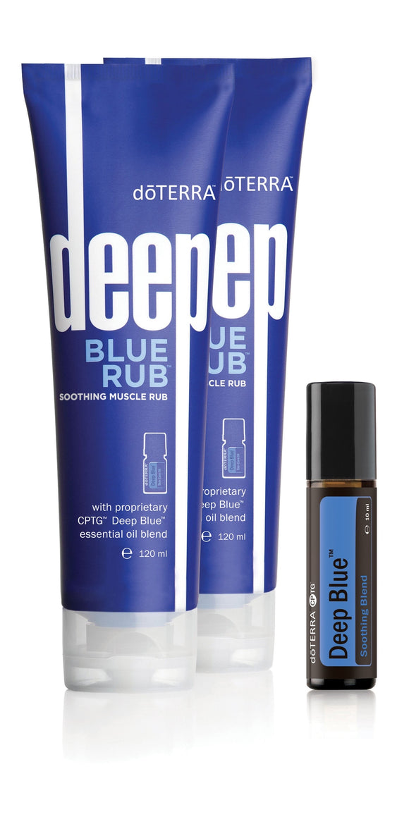 doTERRA Deep Blue Kit - Anahata Green