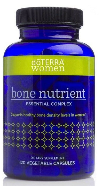 doTERRA  Women Bone Nutrient Essential Complex 120 Vegetable Capsules - Anahata Green