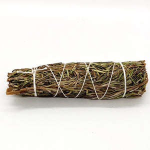 Shasta Sage Smudge Sticks 10cm Cleanse Sacred Space - Anahata Green