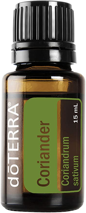 doTERRA Coriander Pure Essential Oil 15ml - Anahata Green