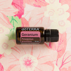 doTERRA Geranium Pure Therapeutic Grade Essential Oil 15ml - Anahata Green LTD.
