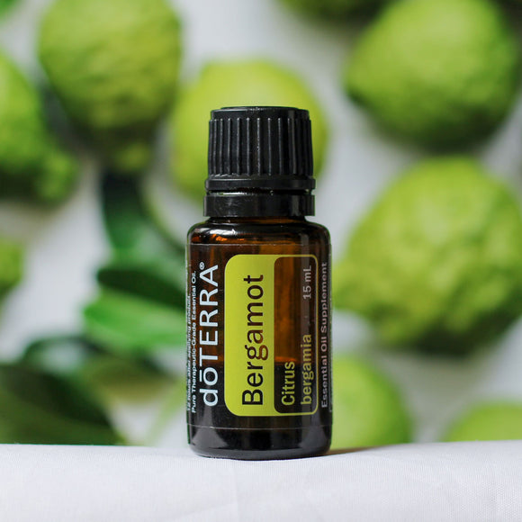 doTERRA Bergamot Pure Therapeutic Grade Essential Oil 15ml - Anahata Green