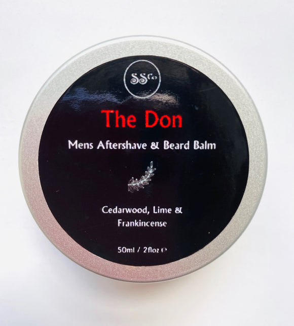 The Don Mens Aftershave & Beard Balm 50ml - Anahata Green