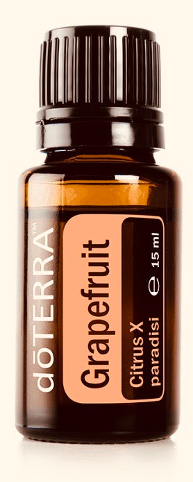 doTERRA Grapefruit Pure Therapeutic Grade Essential Oil 15ml - Anahata Green