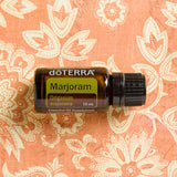 doTERRA Marjoram Pure Therapeutic Grade Essential Oil 15 ml - Anahata Green