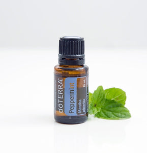 doTERRA Peppermint Pure Therapeutic Grade Essential Oil 15ml - Anahata Green