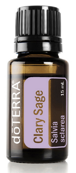 doTERRA Clary Sage Pure Essential Oil 15ml - Anahata Green