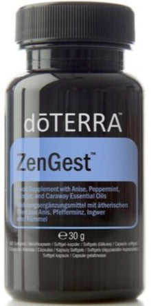 doTERRA Zengest Digestive Blend Dietary Supplement 60 Softgels - Anahata Green