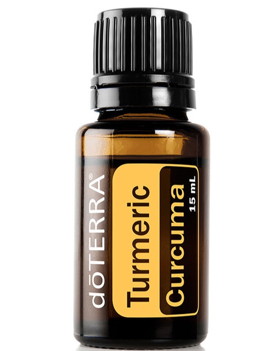 doTERRA Turmeric (Curcuma Longa) Pure Therapeutic Grade Essential Oil 15ml - Anahata Green
