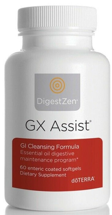doTERRA DIGESTZEN GX ASSIST Cleansing Digestive Formula Dietary Supplement (60) - Anahata Green