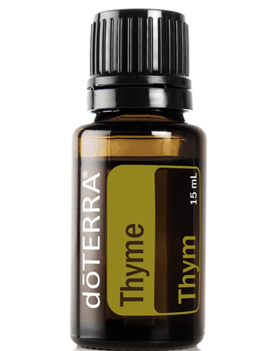 doTerra Thyme Pure Therapeutic Grade Essential Oil 15ml - Anahata Green
