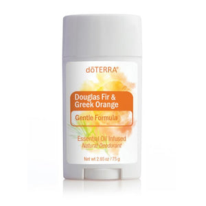 doTERRA Douglas Fir & Greek Orange Sensitive Natural Deodorant 75g - Anahata Green LTD.