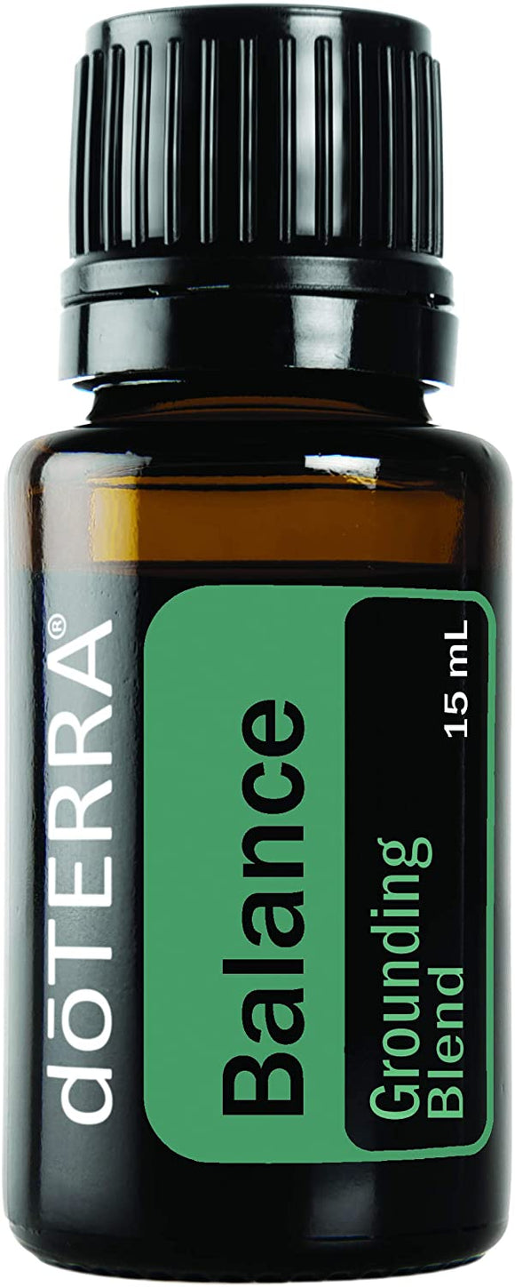 doTERRA Balance Pure Essential Oil Blend 15ml Bottle - Anahata Green