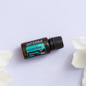 doTerra Island Mint™ Summertime Pure Therapeutic Blend Essential Oil 15ml - Anahata Green