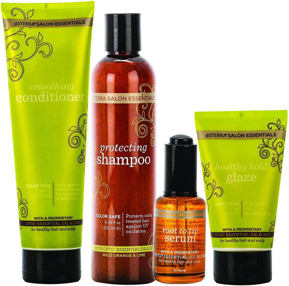 doTERRA Salon Essentials® Hair Care System - Natural Essential Oils, Gift Set - Anahata Green LTD.