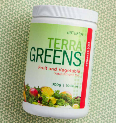 doTERRA TERRA GREENS Fruit & Vegetable Supplement Mix 30 Servings SEALED Vegan - Anahata Green