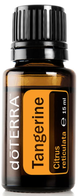 doTERRA Tangerine Pure Therapeutic Grade Essential Oil 15ml - Anahata Green