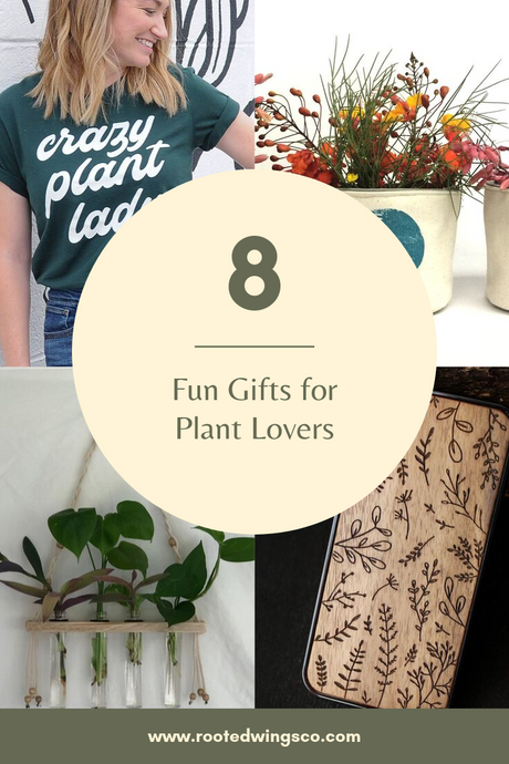 8 Fun Gifts for Plant Lovers