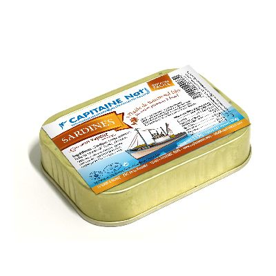 Sardines H.Tournesol** 80g Capitaine Nat