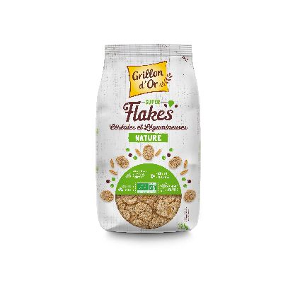Super Flakes Cereales Legumineuses Nature 325 G