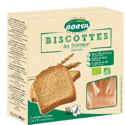Biscottes Froment 300 G Borsa