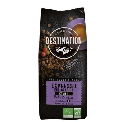 Cafe Expresso Pur Arabica Grains 500 G Destinat