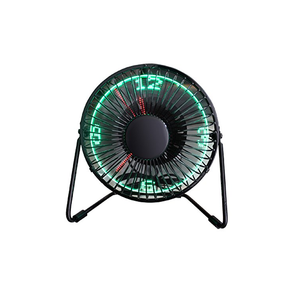 Mini Ventilatore Orologio LED