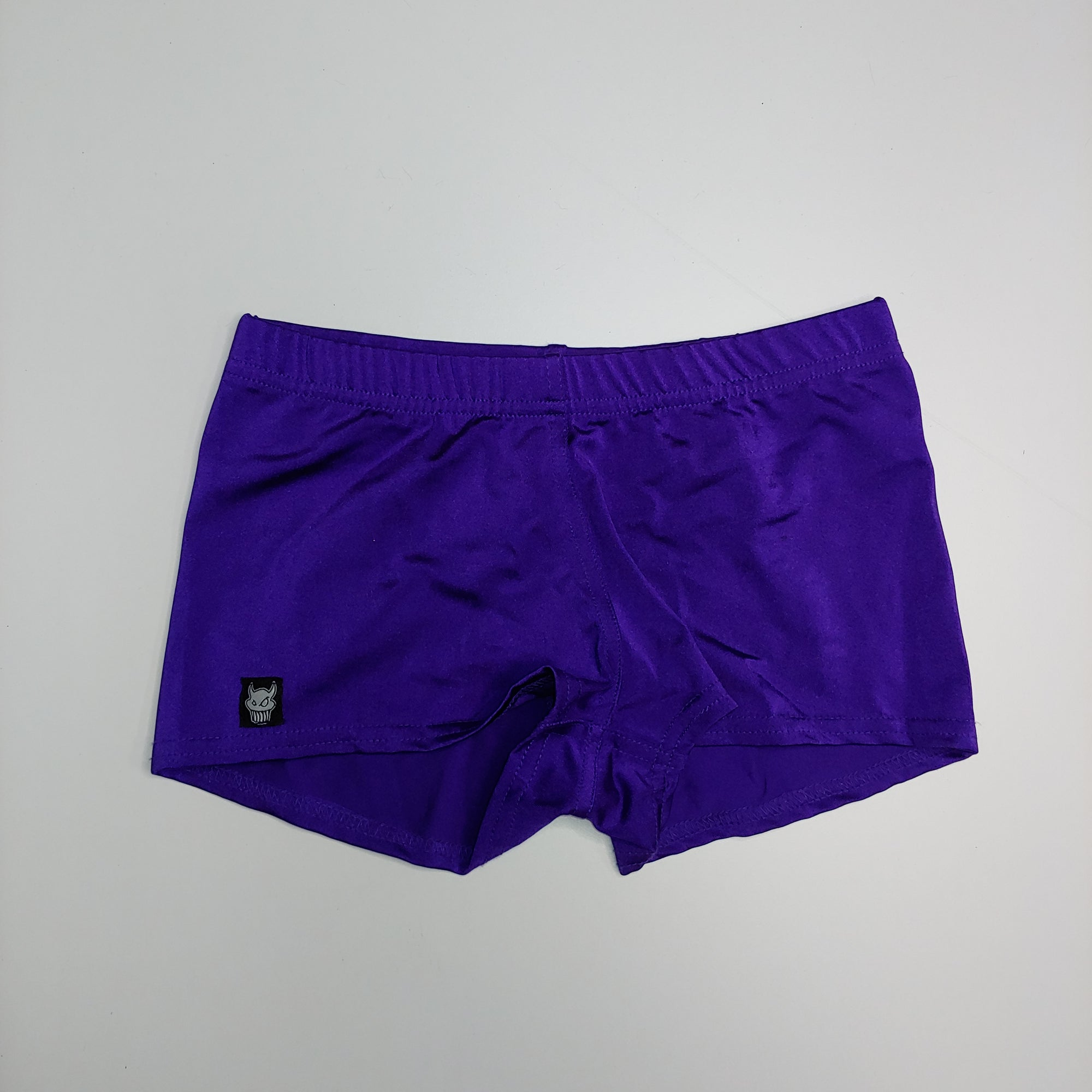 2XS-Purple Booty Shorts