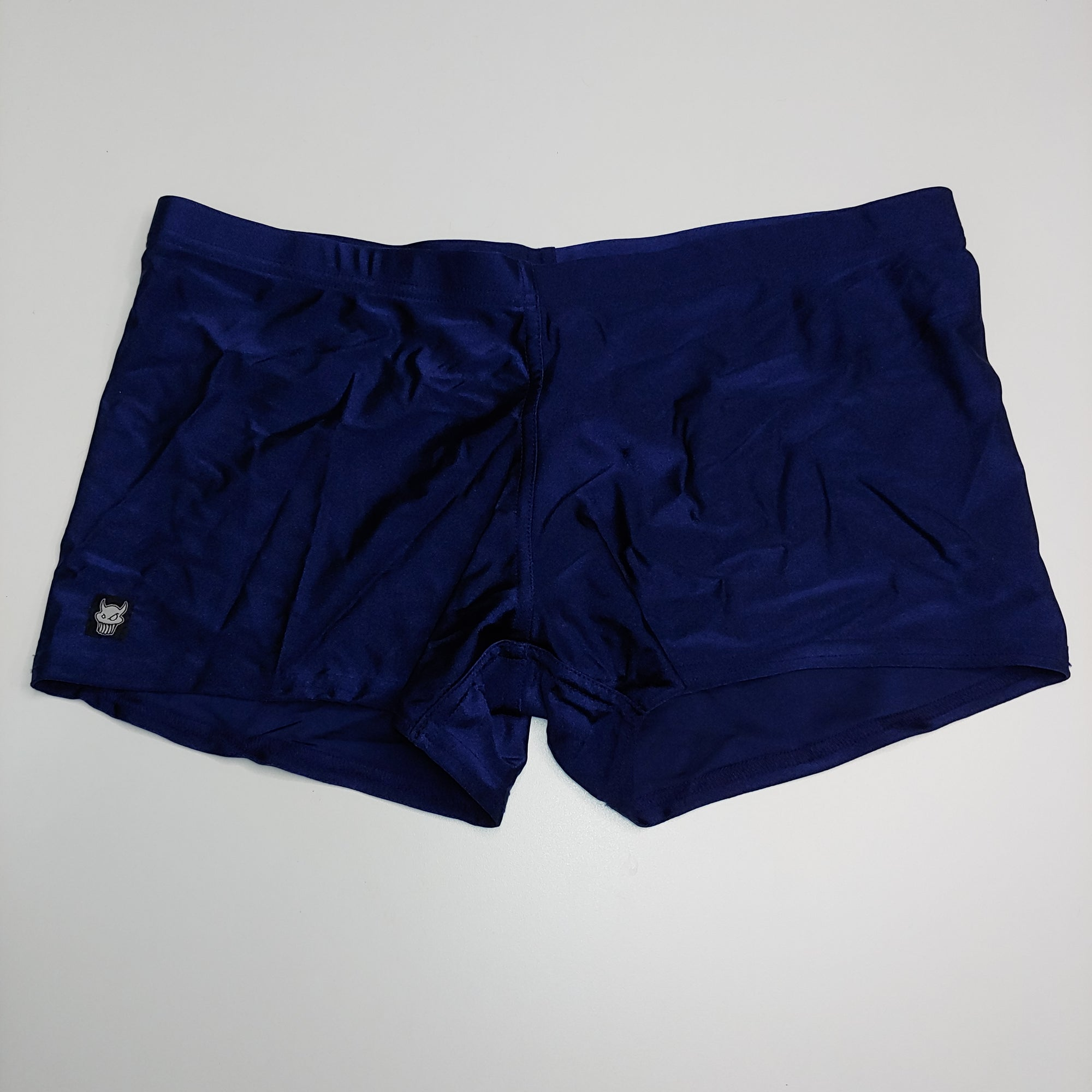L-Solid Navy Blue Booty Shorts