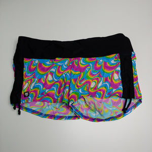 2XL-Sparkly Rainbow Swirl Scrunch-Its