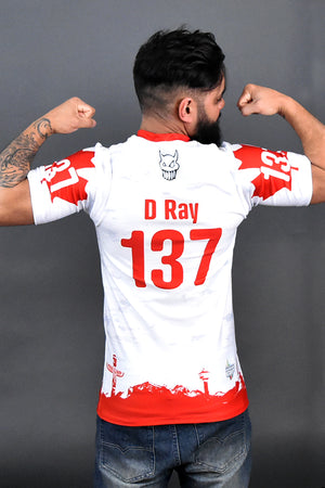 TCMRD Sleeved White Jersey 2018