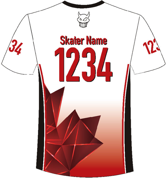 TCMRD Sleeved White Jersey 2020