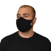 machine washable reusable face mask black