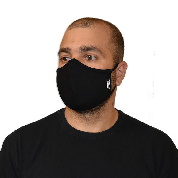 reusable mask, ear loops, made in Canada, non-medical mask, face mask