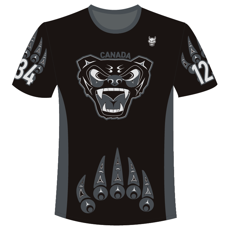 Official Team Canada Men's Black Jersey