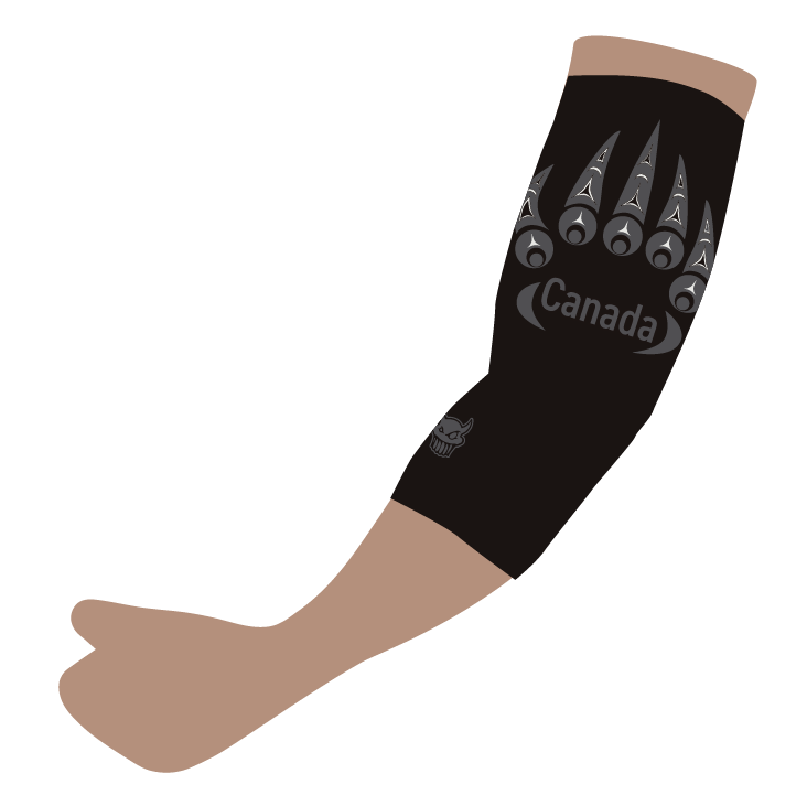 TCMRD Black Bear Claw Sleeve
